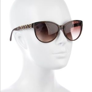 Chanel butterfly chain link glasses